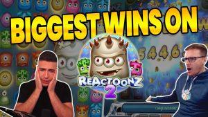 BIGGEST WINS ON REACTOONZ 2