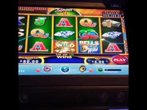 Bells Gone Wild BONUS large WIN MAX BET $6 – Windcreek Wetumpka casino bonus