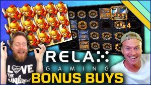 Լավագույն բոնուսային գնման խաղային ավտոմատ Relax Gaming- ից