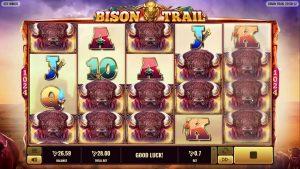 Bonus de cazino Betfury Bison Trail slot câștig extra mare
