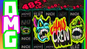 CHAOS CREW ⚠️ SLOT MEGA large WIN MY BIGGEST WIN EVER🏆 ON THIS GAME appear AT THOSE MULTIPLIERS BOOOM‼️