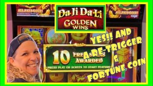 ☘️🔥DA JI DA LI GOLDEN WINS loose GAMES large WIN☘️🔥KICKAPOO LUCKY EAGLE casino bonus