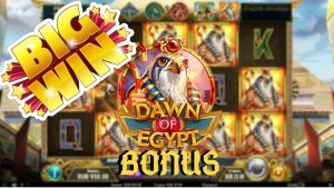 Dawn of Arab Republic of Egypt Ultra large WIN!!!! CasinoDaddy