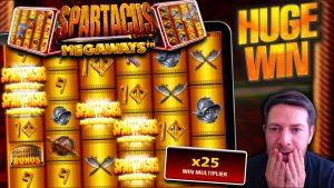 EPIC large WIN!! Spartacus Megaways Goes CRAZY!!