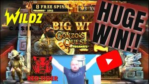 Epic Comeback!! Huge Win From Gonzo's Quest MegaWays!!