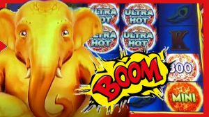 FINALLY a BONUS on Ultra Hot MEGA LINK Slot * large WIN! * Bellagio Las Vegas | casino bonus Countess
