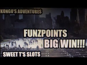 FUNZPOINTS casino bonus KONGO'S ADVENTURES 40 loose SPINS WON PLUS to a greater extent than! large WIN!!!