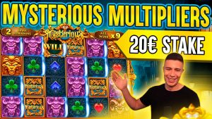 HIGH STAKE BONUS ON MYSTERIOUS 🎰 large WIN ON PRAGMATIC PLAY ONLINE SLOT MACHINE