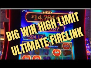 HIGH bound ULTIMATE FIRELINK  large WIN 10dollar bet #casino bonus #slotmachines #filamslots