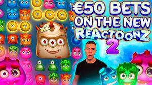 HUGE 13000€ WIN ON REATOONZ 2 🎰 large WIN ON PLAY N GO ONLINE SLOT MACHINE