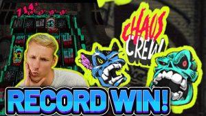 HUGE WIN! CHAOS CREW large WIN – casino bonus Slot from CasinoDaddys LIVE flow