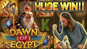 HUGE WIN! DAWN OF Arab Republic of Egypt large WIN – €10 bet on casino bonus Slot from CasinoDaddys LIVE current