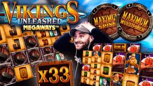 HUGE Win on Vikings Unleashed – MAX Spins MAX Multiplier