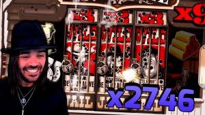 Enorme WIN x2746 su TOMBSTONE (Nolimit Gaming) - vincite di grandi dimensioni con slot bonus del casinò