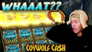 Huge Win on Coywolf Cash!