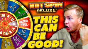 Huge Win on Hot Spin Deluxe!