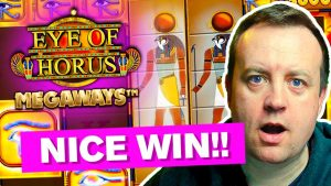 I got a HIGH STAKES large WIN on oculus OF HORUS SLOT !!!! *wow nice*