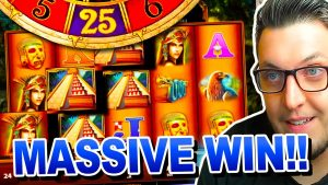 I got a large WIN on MONTEZUMA SLOT on £350 Bonus Hunt !!!