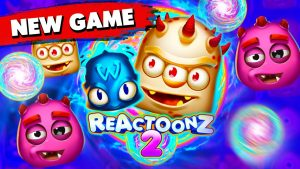 I tried novel REACTOONZ 2 SLOT together with got a large WIN !!!