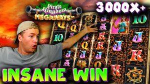 INSANE WIN during Pirate Kingdom Megaways Session!