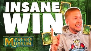 INSANE large WIN on MYSTERY MUSEUM ONLINE SLOT yesteryear KONGEBONUS