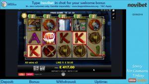 Knights Life slot mega large win | Merkur | Novibet casino bonus