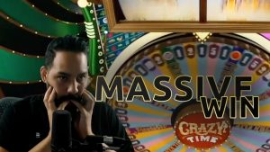 MASSIVE WIN ON CRAZY TIME, Evolution Gaming
