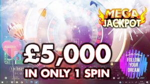 MEGA Jackpot at LIVE Roulette with x500 large WIN existent Money Online casino bonus