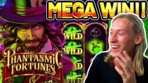 MEGA WIN! PHANTASMIC FORTUNES large WIN – Highroll €15 bet  on casino bonus Slot from CASINODADDY