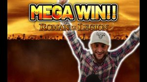 MEGA WIN! ROMAN LEGION large WIN – €10 bet on casino bonus Slot from CASINODADDY