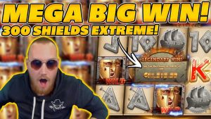 MEGA large WIN on 300 SHIELDS EXTREME! 300x STAGE! large WIN on Online Slots!