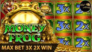 ⭐️MONEY FROG X2X3 BONUS⭐️MAX BET | HUGE WIN MIGHTY CASH VEGAS WIN RETRIGGERED SUCCEED SLOT MACHINE
