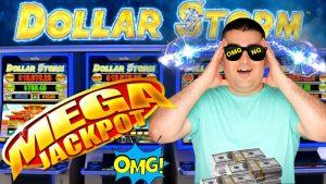 MY BIGGEST JACKPOT On High bound Dollar tempest Slot Machine! Live Slot Play ! Las Vegas Wynn casino bonus