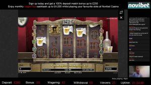 Мега крупная победа Мертвые или живые | Netent | Бонус казино Novibet