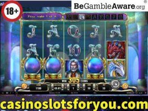 Online casino bonus Slots, rising of Merlin large WIn Bonus