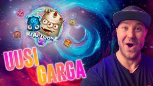REACTOONZ 2 BONUSES! novel GARGA! – Play N Go