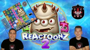REACTOONZ 2 SUPER  large WIN