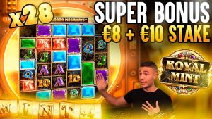 ROYAL MINT SUPER BONUS ON €8 too €10 STAKES 🎰 large WINS ON large TIME GAMING ONLINE SLOT MACHINE