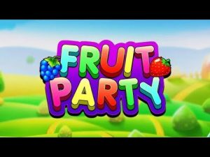 SLOT - FRUITPARTY! BİG WİN ŞÜKÜR ŞU OYUNDA KAZANDIM! #SLOT # CASİNO #ROULETTE #RULET #BLACKJACK