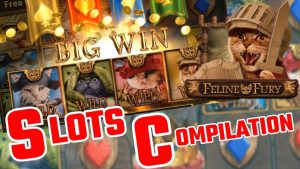 SLOTS Bonus Compilation – Slots Include: Bonanza Megaways, Feline Fury large WIN, volume Of Dead + to a greater extent than