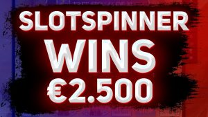 SLOTSPINNER HUGE WINS €2 000 | large WIN inwards casino bonus
