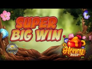 SUPER large WIN BEI HONEY RUSH (PLAY'N GO) – 3€ EINSATZ!
