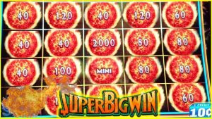 SUPER large WIN! HUGE ORBS! ULTIMATE flame LINK | DRAGON LINK SLOT MACHINES