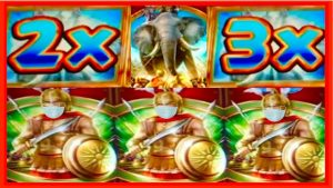 **SUPER large WIN!** I LOVE MULTIPLIERS! ❤️ Alexander The Great WMS Slot Machine Bonus