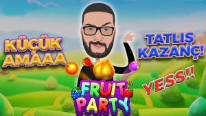 TATLI PARA !!! Fruit political party large Win   Slot Oyunları   casino bonus Cio