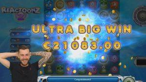 TOP 5 BIGGEST WINS OF THE calendar week ★ €21,083 NICE SUPER large WIN ON REACTOONZ 2 novel SLOT