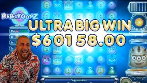 TOP 5 BIGGEST WINS OF THE calendar week ★ INSANE SUPER JACKPOT €60,158 REACTOONZ 2 SLOT