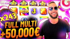 TOPP 5 ONLINE kasino bonus VINNER | CLASSYBEEF stor VINN PÅ EUPHORIA + 50.000 €