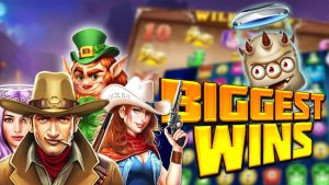 Top 5 Biggest wins of the calendar week inward casino bonus Games | Online casino bonus Highlight