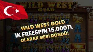 WİLD due west Au 1K unloose SPİN 8 WILD BİG WİN ! #slot #casino bonus #wildwestgold